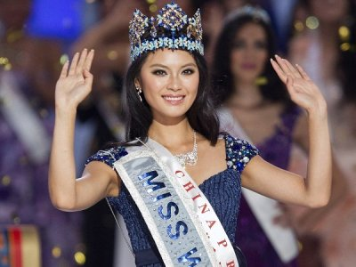 Miss World 2012 Winner Yu Wenxia HD Wallpapers