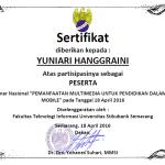 Sertifkat Seminar Multimedia 18 April 2016