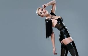 black latex catsuit fakes