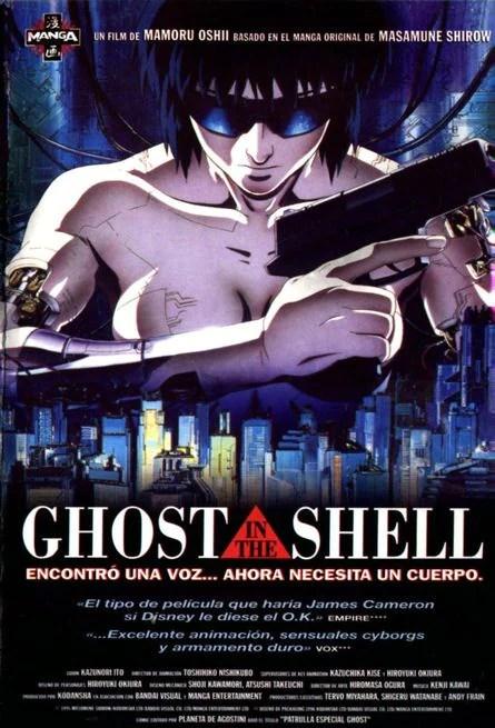 Risultati immagini per Ghost in the Shell mamoru