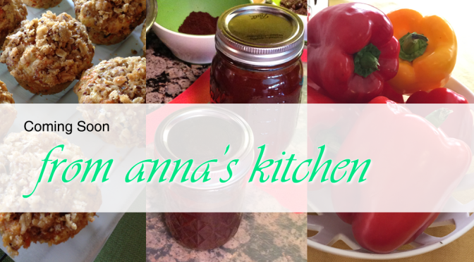 Introducing From Anna's Kitchen