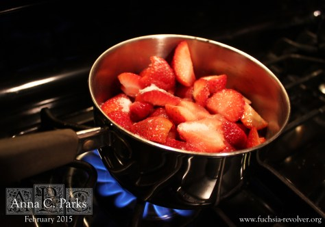 Strawberries Cooking