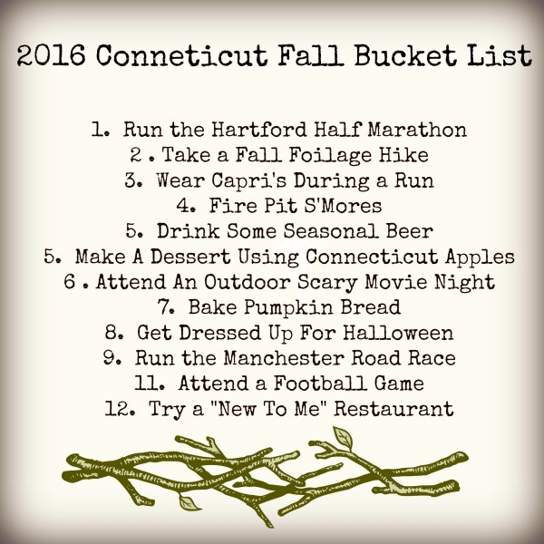 Connecticut Fall Bucket List