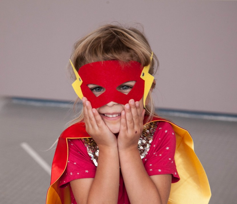 Girls can be superheroes too