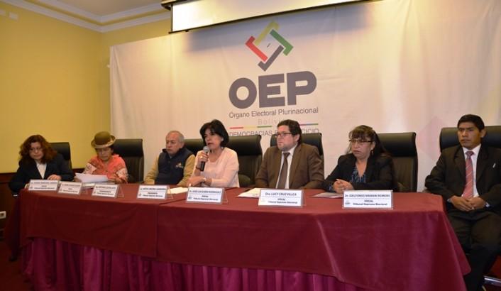El TSE convoca a 14 entidades territoriales al Referendo Autonómico 2017