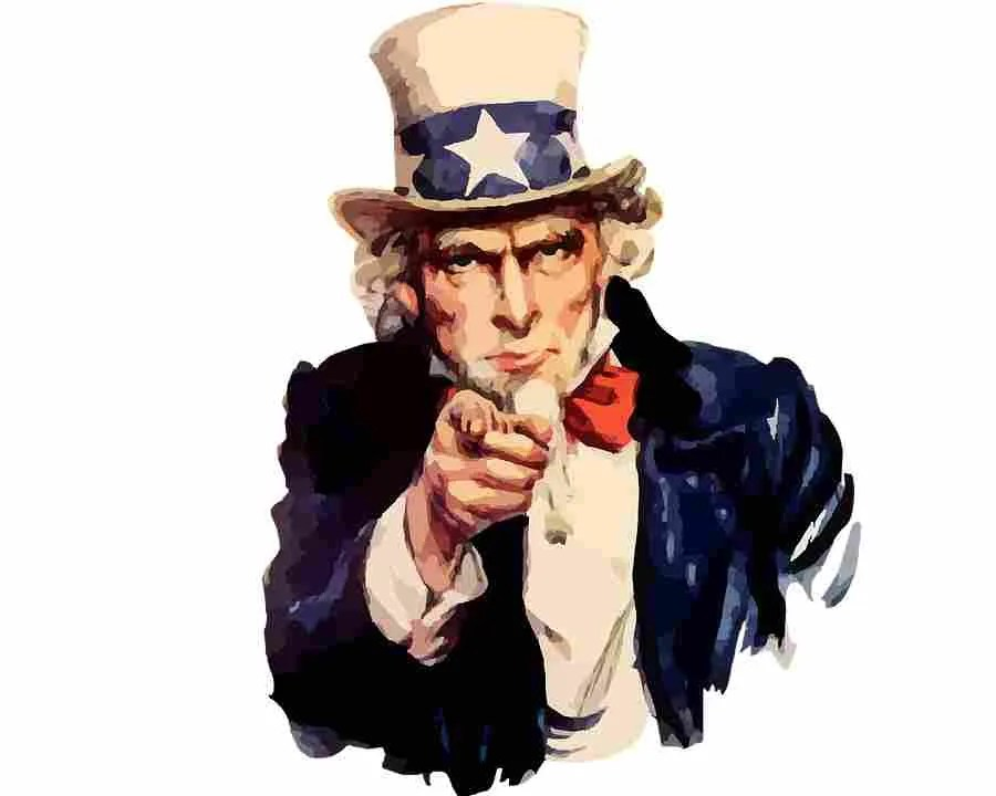 We want you - Zio Sam