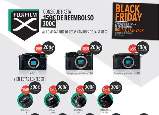 Black Friday Fujifilm España.
