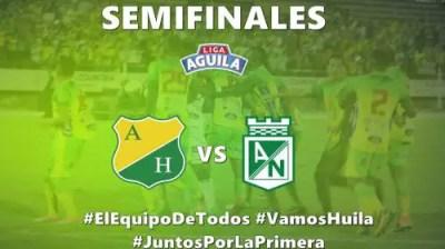 Resultado: Atlético Huila vs Atlético Nacional [Vídeo Resumen] Dónde ver Semifinales Liga Águila ...