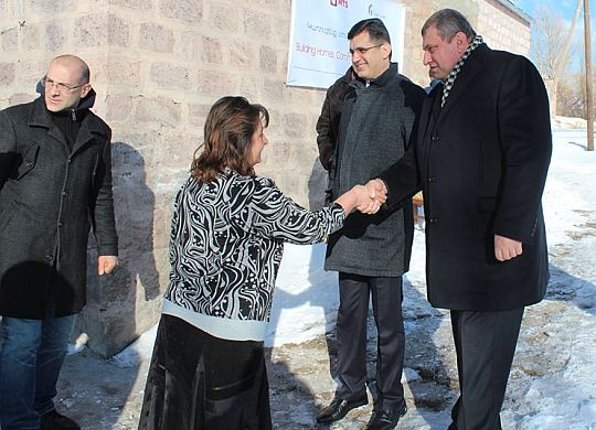 Winter no longer a burden for Armenian family with help of Viva-Cell-MTS
