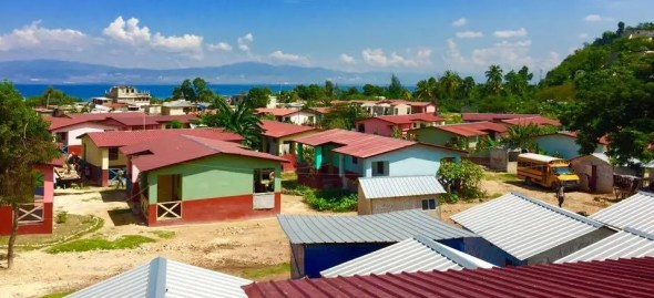 Haiti's Lambi Village is home to 56 Fuller Center partner families.