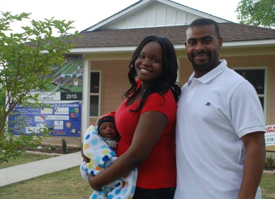 Having a home for the holidays means everything to new parents in Shreveport