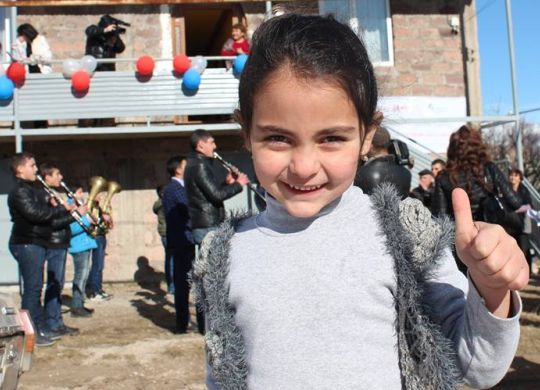 Nearly 28 years after devastating earthquake, Armenian family finally gets decent home