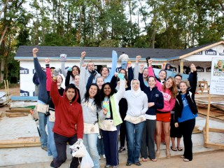 Legacy Build 2011: Webster University students add to international flavor