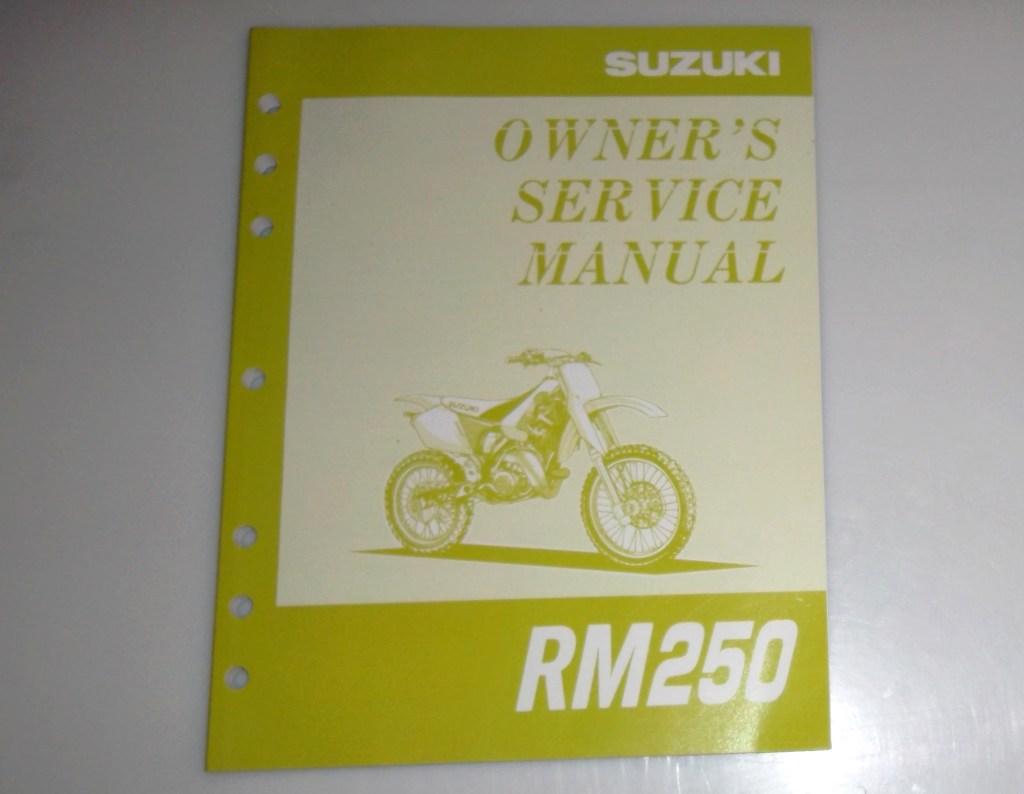 1995 Suzuki RM250 Owner's Service Manual