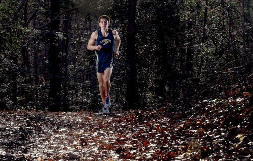 Lafayette's Konrad Steck is the Daily Press male all-star cross-country athlete.