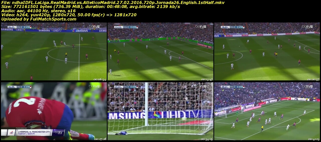 real madrid match live commentary