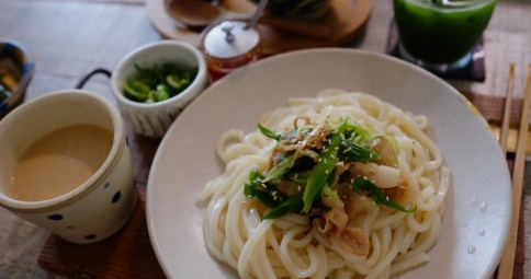 Cold Udon with Sesami Sauce