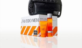 資生堂メン×PORTERコラボ「SHISEIDO MEN TOTAL GROOMING BOX」画像1