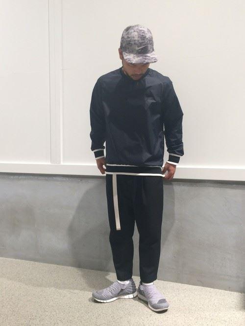 スポーツミックスのメンズ秋冬コーディネート上級編5
