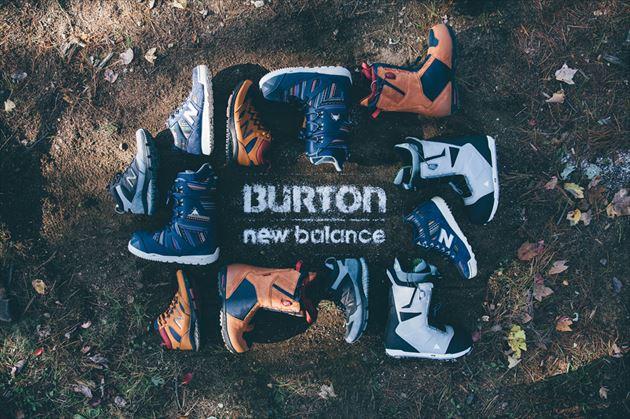 Burton x New Balance Collection画像1