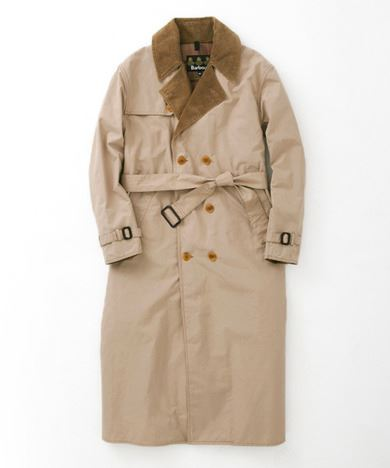URBAN RESEARCH別注Barbour TRENCH COATの画像1