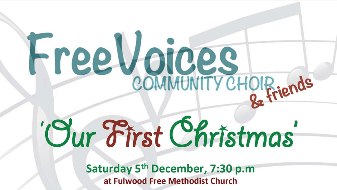 'Our First Christmas' with FreeVoices COMMUNITY CHOIR