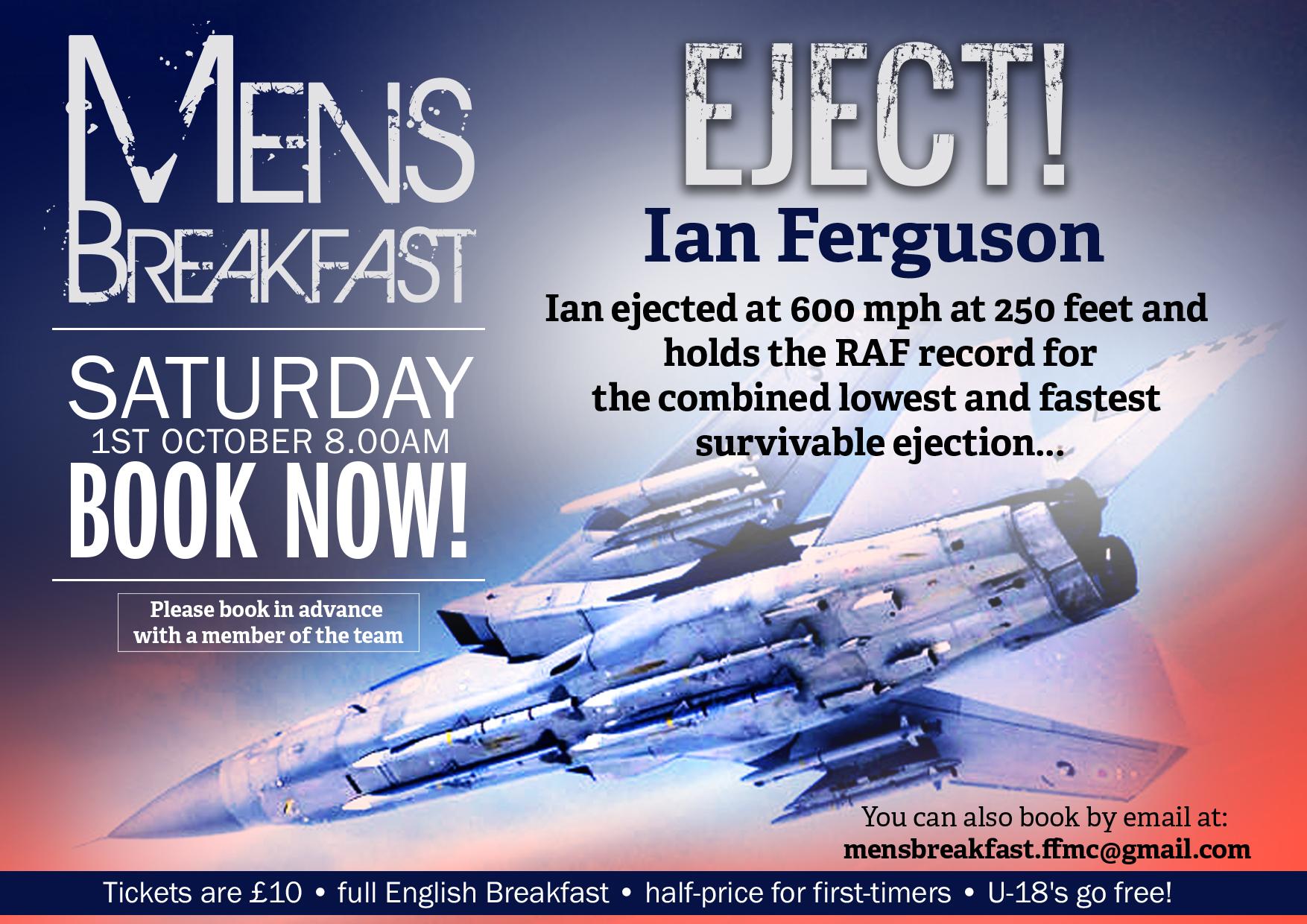 Men's Breakfast | Eject with Ian Ferguson