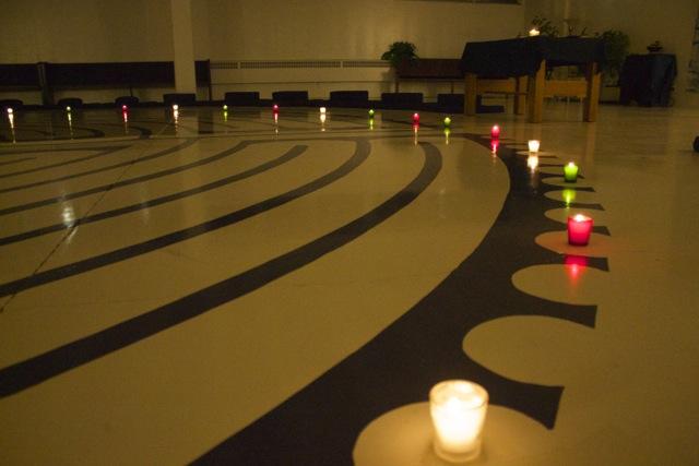 labyrinth evening