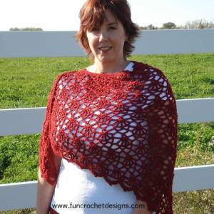 Spanish Rose Shawl