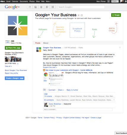 Google Plus for nonprofits