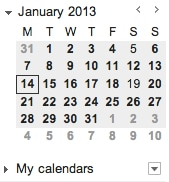 Image of a calendar to illustrate adding an extra month of fundraising
