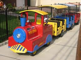 Birthday party train rental kids trackless trains parties los angeles san jose san francisco orange county