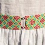 DIY – Breiter Gürtel aus Gummiband und Stoff