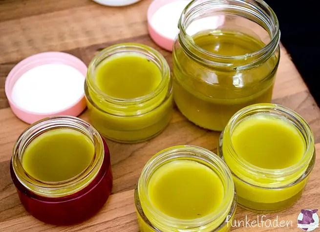 Salbe selber machen aus Ringelblumen - Rezept