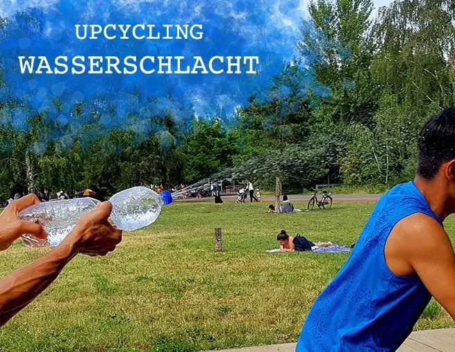Upcycling - Wasserschlacht mit Spritzflaschen