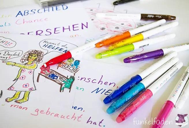 Frixion Colors PILOT Pen Fotobuch selber machen