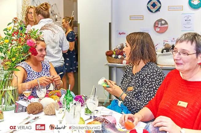 Blogger-Treffen in Berlin 2016 - Stricken mit Prym, OZ Verlag und Makerist