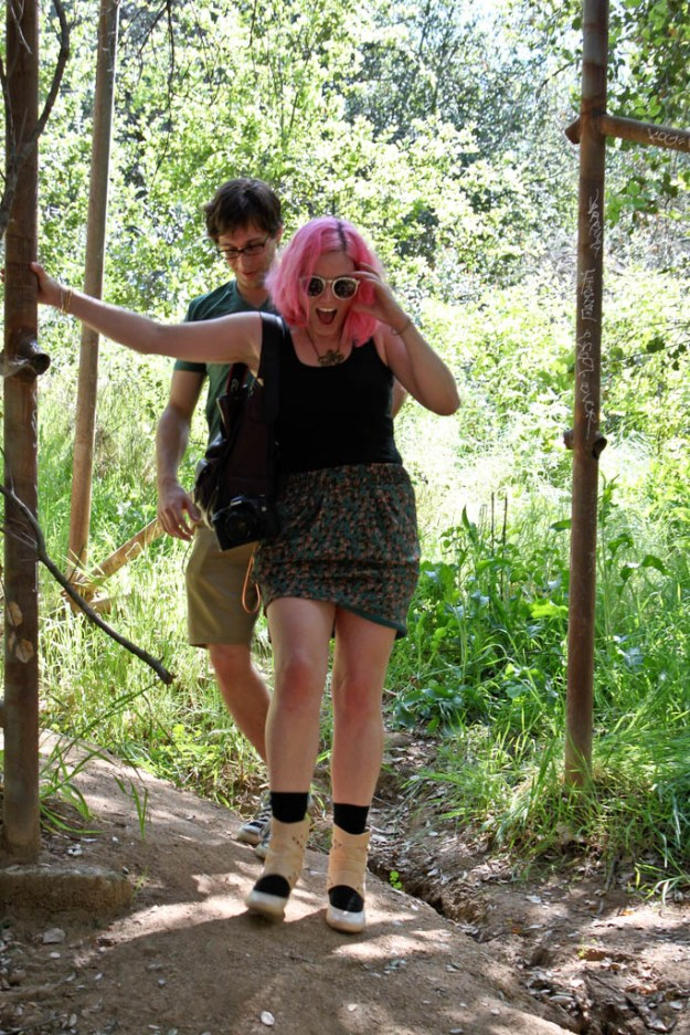 Adventures at the Old LA Zoo, or: The day I went hiking in heels