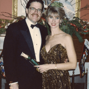 Oh you know... just my parents off to yet ANOTHER black tie event on New Years Eve, 1991.