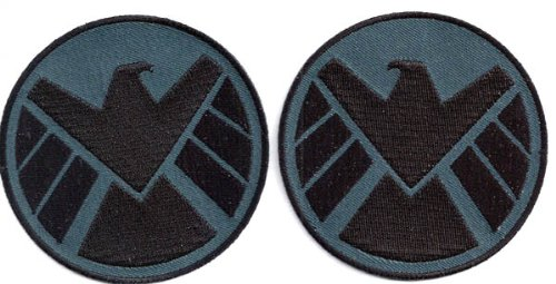 SHIELD Logo Shoulder Patches