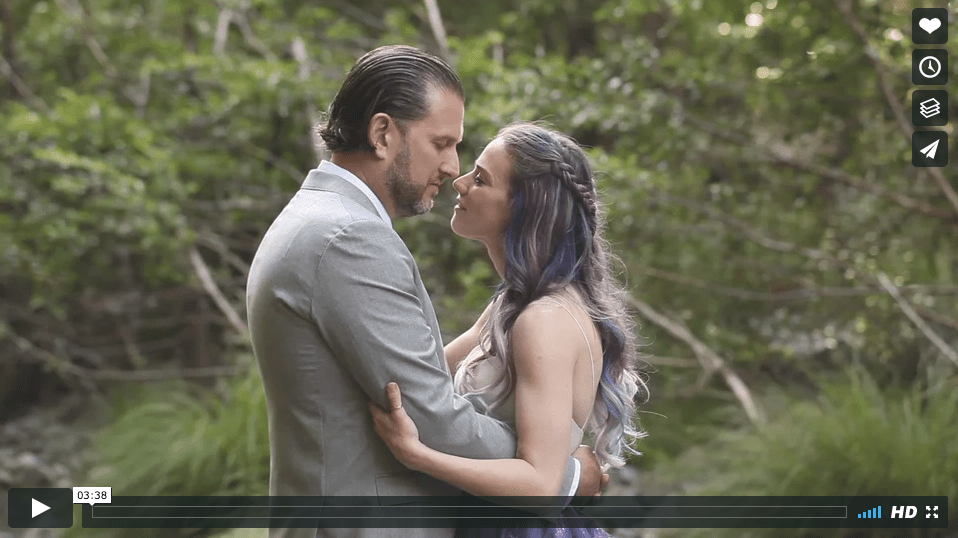 The Redwood Wedding's last-minute wedding videography Hail Mary + my wedding vows