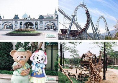 40% Off! Everland One Day Ticket & Shuttle Bus Package   Funtastickorea