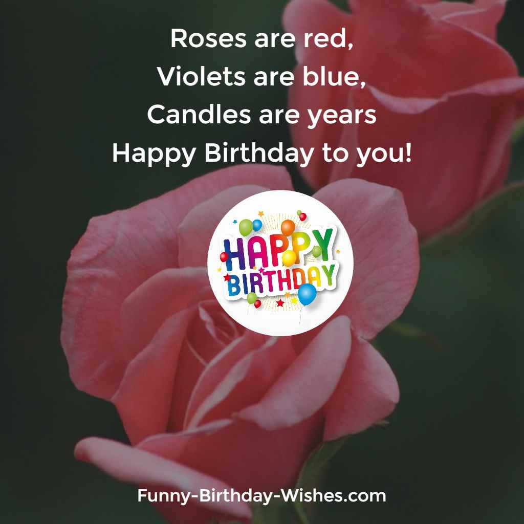 Attractive Roses Are Violets Are Candles Are Years Happy Birthday To Ny Birthday Meme Images Ny Ways To Say Happy Birthday Reddit Ny Ways To Say Happy Birthday On A Cake gifts Funny Ways To Say Happy Birthday