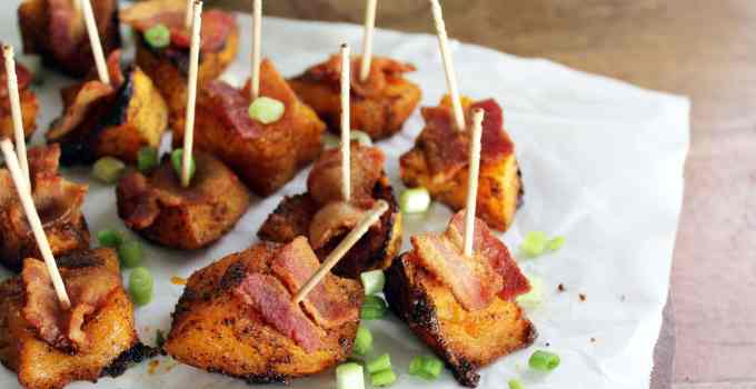 Barbecue Bacon Butternut Bites