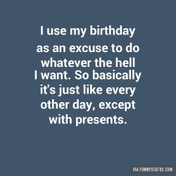 Small Of What Should I Do For My Birthday