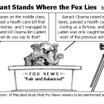 The Elephant Stands Where the Fox Lies