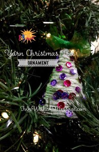 Yarn Christmas Tree Christmas Crafts