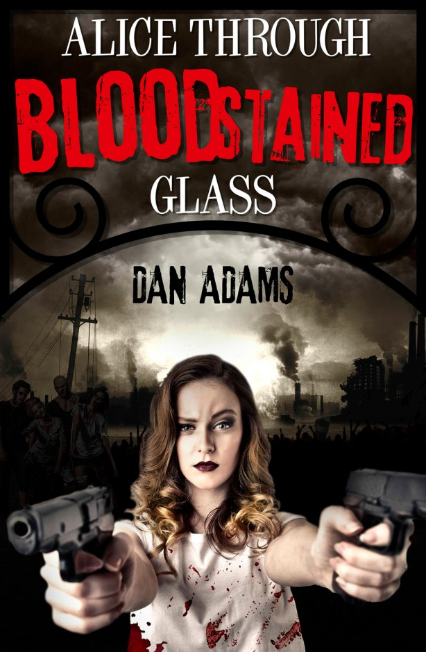 Alice Through Bloodstained Glass Cover