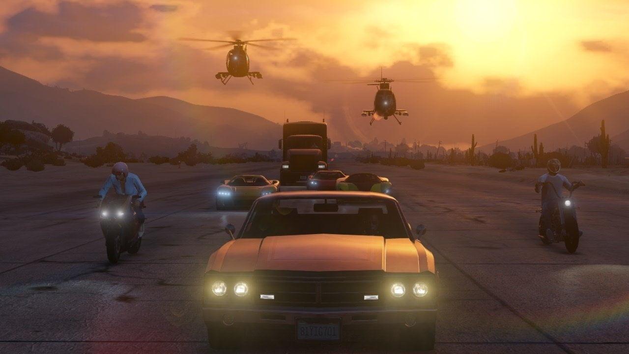 GTA Online Teamwork