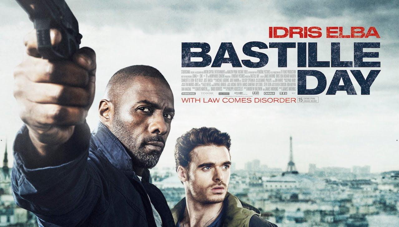 bastille day movie poster